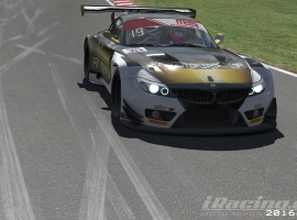 El RF2 Motorsport Endurance Team en el top 10 de las MES