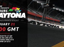 Hoy se celebran las iRacing 24 H de Daytona