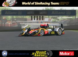 El World of SimRacing Team presenta el SRP17