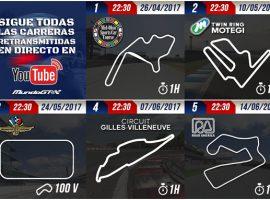 Llegan los Indycar a MundoGT con el campeonato #OWMGT