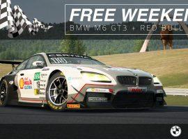 Vuelve el Free Weekend a RaceRoom: BMW M6 GT3 & Red Bull Ring