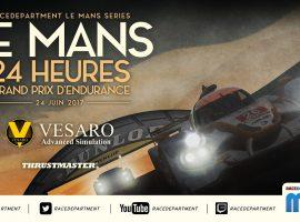 Sigue al World of SimRacing Team en las 24 horas de Le Mans