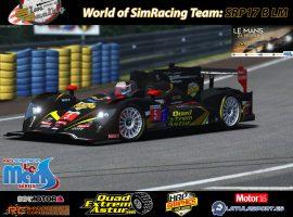SRP17B LM: Al asalto de las 24H de Le Mans