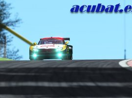 ACUBAT: Nuevo sponsor de World of SimRacing