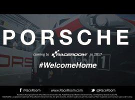 Porsche llega de manera oficial a RaceRoom
