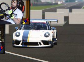 Porsche 911 GT3 Cup en el circuito italiano de Monza