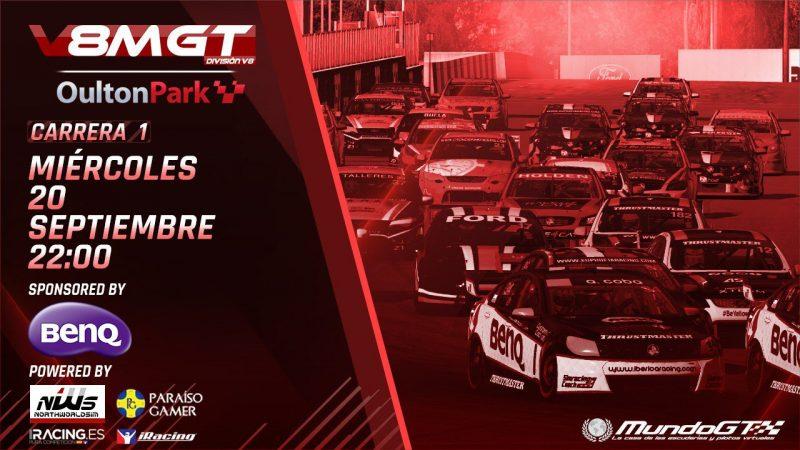 Hoy comienza la División V8 del #V8MGT