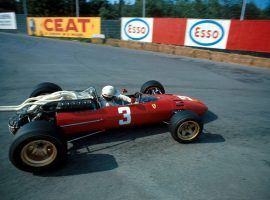 Mike Parkes(GBR) Ferrari 312 Belgian GP,  Spa,  18 June 1967