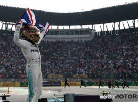 Tetracampeón: Hamilton sentencia en un atípico GP de México
