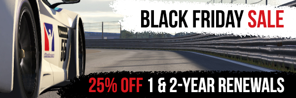 ¡ Black Friday en iRacing !