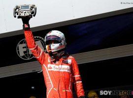 Vettel controla y gana; Hamilton remonta y es 4º
