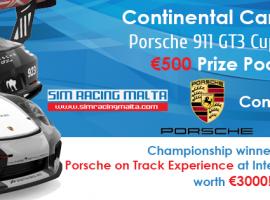 Más de 600€ en juego: Sim Racing Malta abre las inscripciones para la Porsche 911 GT3 Cup
