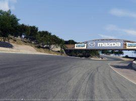 Así se ve Laguna Seca escaneado en Assetto Corsa