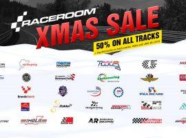 Comienzan las ofertas navideñas en RaceRoom
