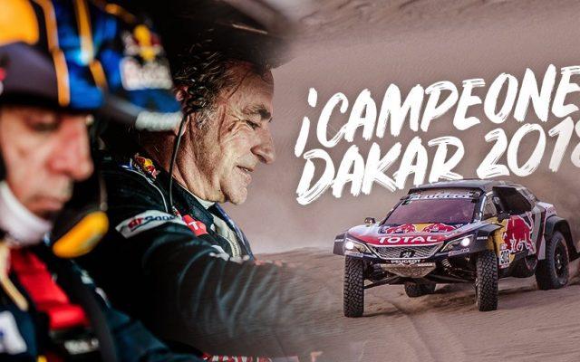 Dakar 2018, Etapa 14: Carlos Sainz se proclama campeón