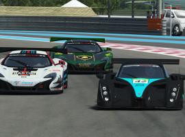Racing Club   Paul Ricard   Dominio abrumador del equipo Jbm Racing