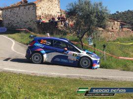 Miguel Fuster y Nacho Aviñó se imponen en el Rallye Sierra Morena