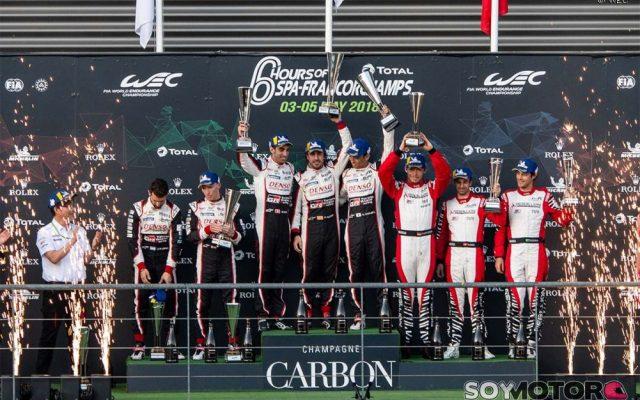Alonso lidera el doblete Toyota en las 6 horas de Spa-Francorchamps