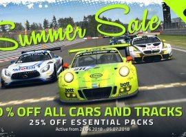 Rebajas de verano en RaceRoom