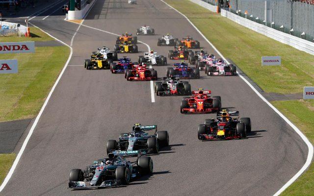 Hamilton deja el Mundial visto para sentencia en Japón, Vettel 6º