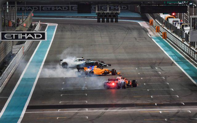 GP de Abu Dabi F1 2018: Entre despedidas, Hamilton sigue ganando