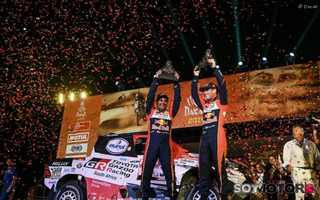 Toyota: objetivo Dakar, cumplido