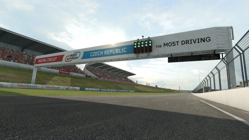 El Autódromo de Most llega a RaceRoom
