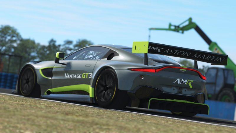 Nuevas imágenes del Vantage GT3 en rFactor 2