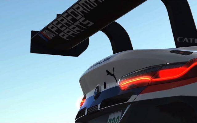 Así ruge el BMW M8 en iRacing
