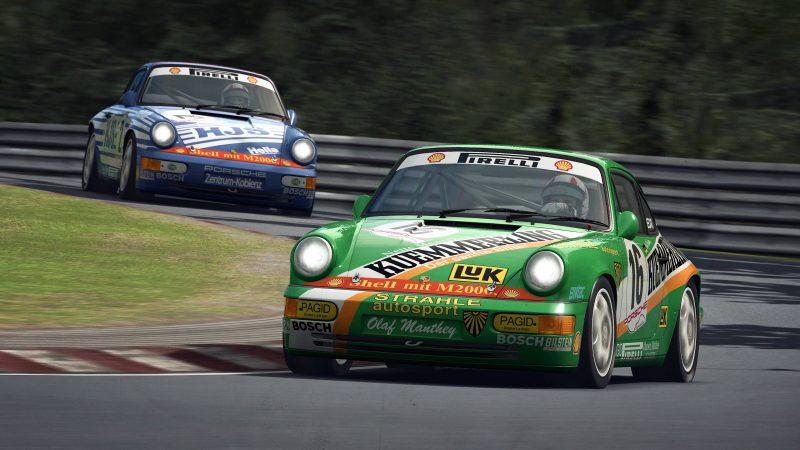 RaceRoom no se olvida de los clásicos