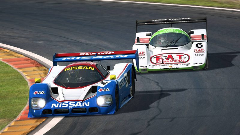 Porsche 962C y Nissan R90CK ¡Que no paren!