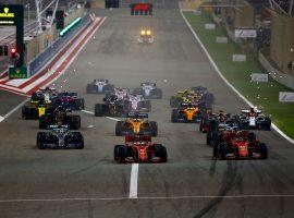 Hamilton gana en Baréin, avería de Leclerc y hundimiento de Vettel