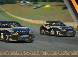 Campeones de las Clubsport Series: Victoria absoluta, victoria en clase PRO y victoria en clase AM