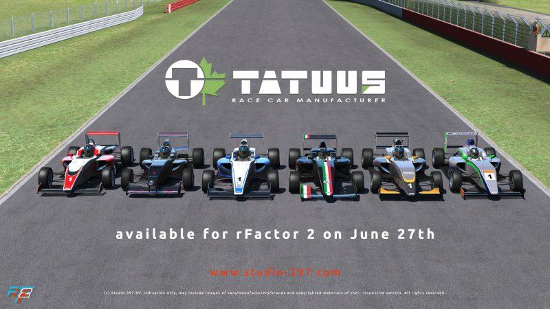 RoadMap de Junio – rFactor2